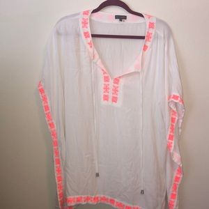 Vince Camuto tunic or swim suit cover up